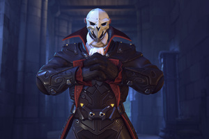 Reaper Overwatch Halloween 4k
