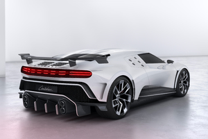 Rear Bugatti Centodieci 2020 Wallpaper