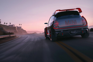 Rebel Racing Mini Cooper Wallpaper