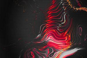 Red Abstract Lines 4k Wallpaper