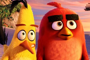 Red And Chuck Angry Birds