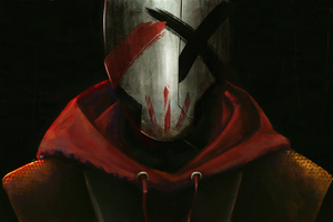Red Bandit 4k Wallpaper