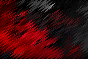 Red Black Sharp Shapes