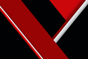 Red Black Texture Shapes Abstract 4k Wallpaper