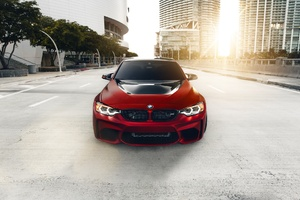 Red Bmw Wallpaper