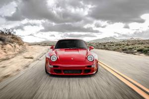 Red Cherry Porsche 911 5k Wallpaper