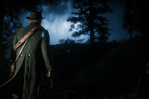 Red Dead Redemption 2 A Rainy Night