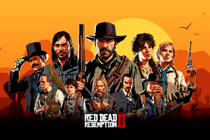 Red Dead Redemption 2 Game Characters