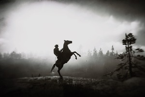 Red Dead Redemption 2 Horse Ride 4k Wallpaper