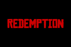 Red Dead Redemption 2 Logo 4k