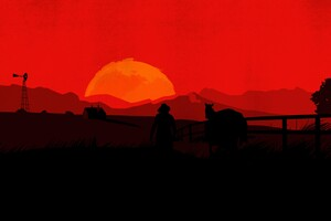 Red Dead Redemption 2 Minimal 4k