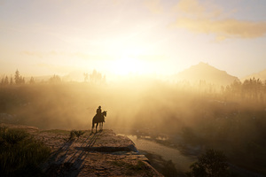 Red Dead Redemption 2 The Golden Hour 2020 4k Wallpaper