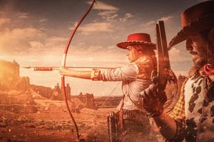 Red Dead Redemption Cosplay 8k Wallpaper