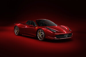 Red Ferrari New