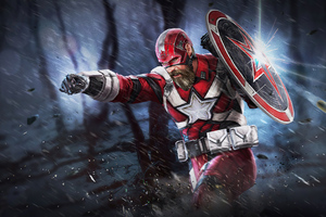 Red Guardian Marvel Future Fight Wallpaper
