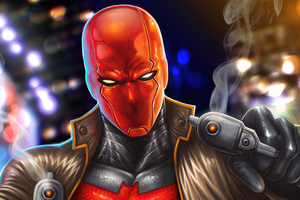 Red Hood Another Take 5k Wallpaper