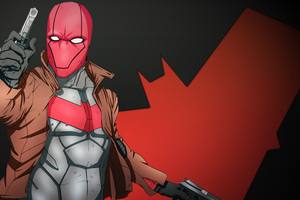 Red Hood Artwork 10k Wallpaper
