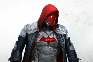 Red Hood Coming 4k Wallpaper