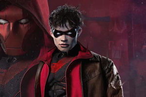 Red Hood Curran Walters Wallpaper