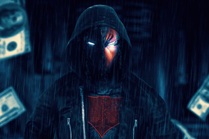 Red Hood Dc Hero 4k Wallpaper