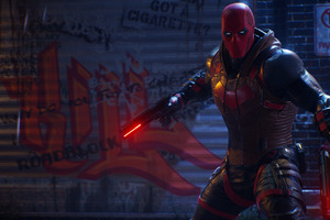 Red Hood Gotham Knights Game 2021