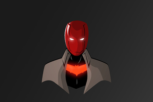 Red Hood Illustrator Wallpaper