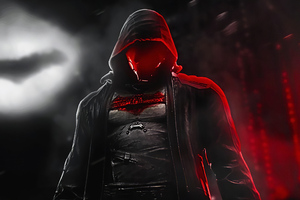 Red Hood In The Night Wallpaper