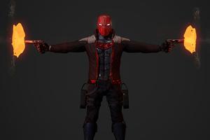 Red Hood Jason Todd Guns 5k
