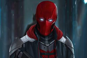 Red Hood Mask 2020 4k