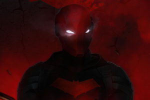 Red Hood Mask 4k 2020