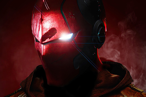 Red Hood Mask 4k