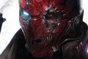 Red Hood Mask Wallpaper