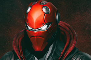 Red Hood Mask Eyes Wallpaper