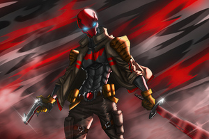 Red Hood Sketch Artwork