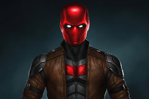 Red Hood Suit Wallpaper