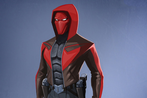 Red Hood Superhero Wallpaper