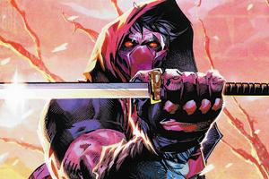 Red Hood Sword 4k