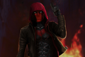 Red Hood Titans 5k Wallpaper