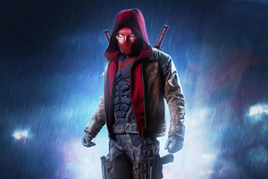 Red Hood Titans Wallpaper
