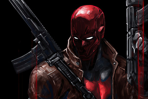 Red Hood With Gun