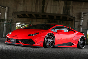 Red Huracan Wallpaper