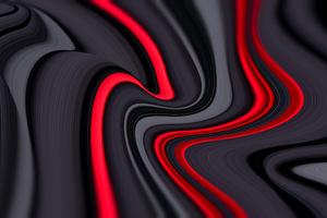 Red Inside Grey Design 8k