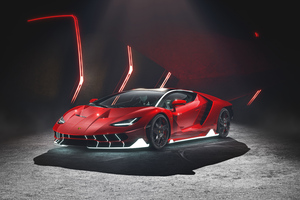 Red Lamborghini4k Wallpaper