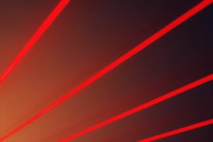 Red Light Beams Abstract 5k Wallpaper