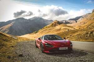 Red McLaren 720 S