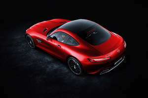Red Mercedes Benz Amg GT 4k Wallpaper