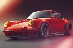 Red Porsche Wallpaper
