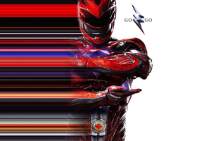 Red Ranger Power Rangers 2017