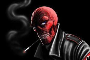 Red Skull 5k Wallpaper