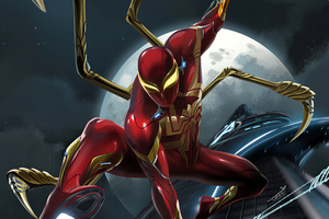 Red Spider Iron Suit 4k